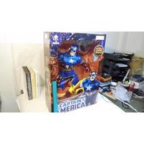 Super Heroes Capitan America Nuevo 2015 Gigante 60cms Marvel