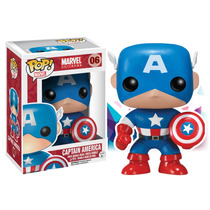 Capitán America 06 Pop Funko Captain America Marvel Gennial