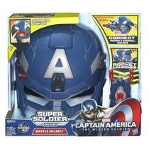 Ca´pitan America Mascara Lanza Cohetes Con Luz Avengers