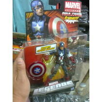 Marvel Legends Ultimate Capitan America Nuevo Y Cerrado!!