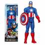 Capitan Amercica Avengers Marvel Hasbro Grande 30cm Figura