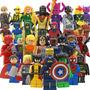 Super Coleccion Completa 32 Figuras De Marvel Dc Tipo Lego