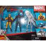 3 Pack Marvel Universe (daredevil, Silver Surfer, Iron Man)