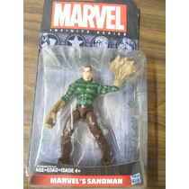 Sandman Hombre De Arena Marvel Infinite Series Spiderman