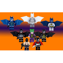 Genial Set De Batman A1 Baen Joker Compatible Con Lego