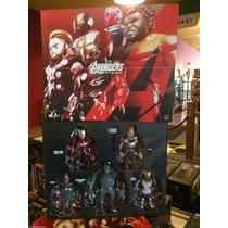Hot Toys Avengers Age Of Ultron Artista Mix Set De 5 Figuras