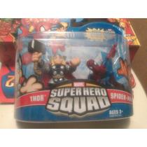 Marvel Hero Squad Thor Spiderman Pack Bvf
