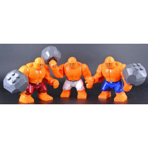 Set De La Mole De Los 4 Fantasticos 7.5 Cm Tipo Lego