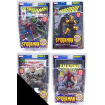 Marvel Legends Spiderman, Rhino, Darevil Amarillo Y Spiderma