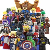 Coleccion Sw2 Marvel Dc 32 Figuras Compatibles Con Lego