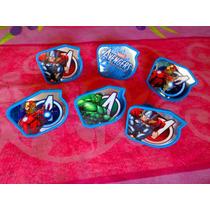 Los Vengadores Set De Anillos Para Pastel