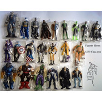 Figuras Marvel Universe Dc Multiverse Varias 11cm Brujostore