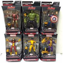 Subasta 6 Piezas Marvel Legend