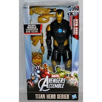 Marvel Avengers Titan Héroe Serie Bunker Buster Iron Man Fig