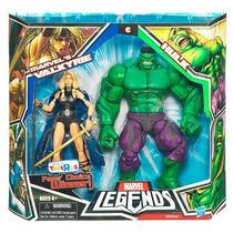 Marvel Legends 2 Pack Hulk & Valkyrie Hm4