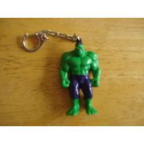 Llavero De Hulk Mide 7 Cms
