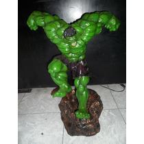 Figura De Resina Del Personaje Hulk