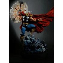 Thor Classic Action 19 Inch Statue By Randy Bowen Hm4