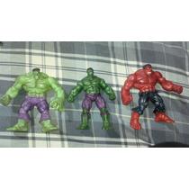 Marvel Universe Hulk, Red Hulk Y Hulk Lote De 3