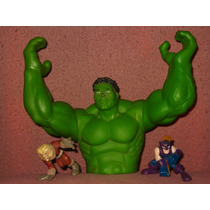 Hulk Blockbuster Tapa Marvel Spiderman X Men Superman Batman