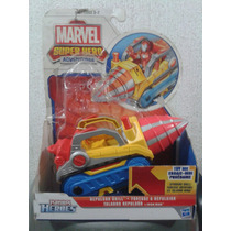 Playskool Heroes Destructomovil Y Taladro Repulsor 2 X $250
