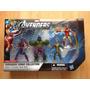 Set 4 Figuras Marvel Avengers Hulk, Ironman, Loki, Howkeye