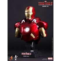 Iron Man Hot Toys Busto Escala 1/4 Nuevo! Avengers Ironman 3