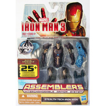 Stealth Tech Iron Man 3 Assemblers Marvel Armor System