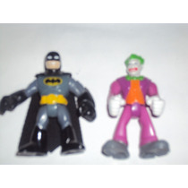 Batman Y Guason Tipo Super Hero Squad Joker