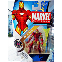 Iron-man,marvel Universe,serie 3 ,001,nuevo Sellado,figura