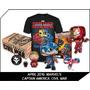 Caja Marvel Collector Corps Civil War