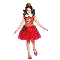 Disfraz Shopkins Strawberry Classic Costume Pequeño / 4-6 Un