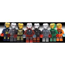 Set A3 Armaduras De Iron Man Tipo Lego