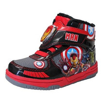 Invierno Botas De Nieve Caliente De Marvel Avengers Ironman