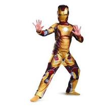 Marvel Iron Man 3 Marcar 42 Muchachos Clásico Traje De 3t-4t