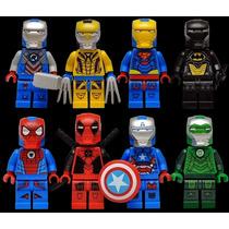 Set A1 Nuevas Armaduras Iron Man 2015 Marvel Dc Tipo Lego