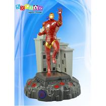 Lámpara Con Sonido Iron Man Avengers Marvel