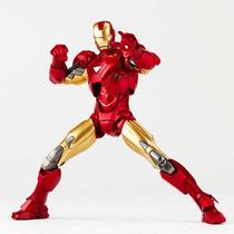 Revoltech No. Lr-040 Kaiyodo Iron Man Mark Vi Ironman