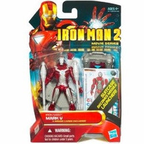 Marvel Iron Man 2 Película Figura Iron Man Mark V # 11