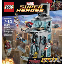 Iron Man Super Heroes Attack Tower Avengers Ultron Lego