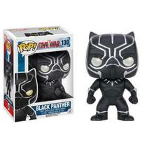 Funko Pop Civil War Black Panther Listo Para Envío 2016