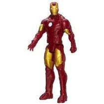 Avengers Serie Marvel Ensamble Titán Héroe Iron Man 12 Figu