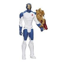 Marvel Avengers Titan Serie Del Héroe Iron Man 12 Figura De