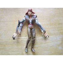 Mujer Brazos De Robot Marvel Toy Biz 2006 Mide 15 Cms