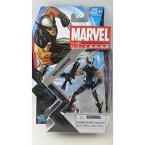 Figura Wolverine Black Traje Negro Marvel Universe Serie 5