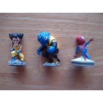 Spiderman Wolverine Mounstruo Azul Mini Cabezones En 50 Cu