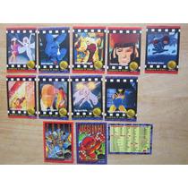 X-men Tarjetas Marvel Skybox 1993 Vintage En 10.00 Cada Una