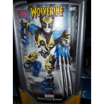 Mega Block Wolverine Marvel Super High Tech,
