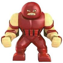 Figura Grande De 7.5 Cm Juggernaut De Los X Men Minifiguras