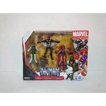 Marvel Universe Inhumans Black Bolt Medusa Karnak Legends